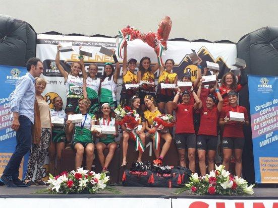 Campeones España Selecciones cat fem
