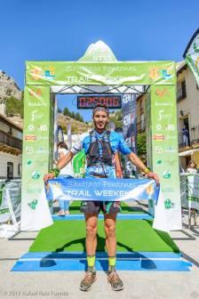 Ganador trail sierra Segura