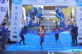 Ganadora maraton malaga