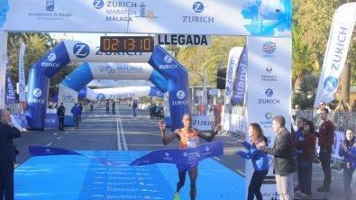 Maraton Malaga Ganador