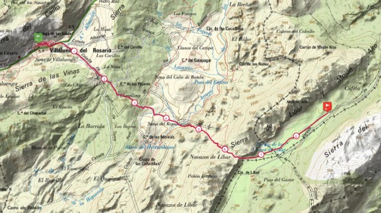 mapa tramo 5