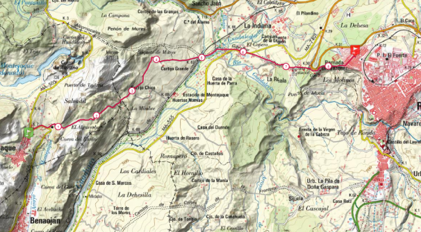 mapa tramo 7