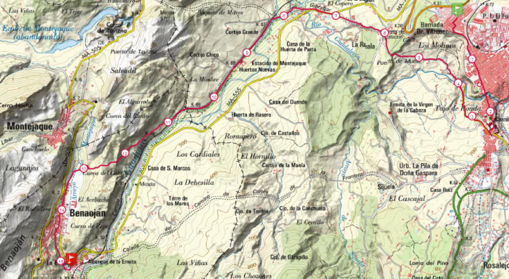 mapa tramo 8