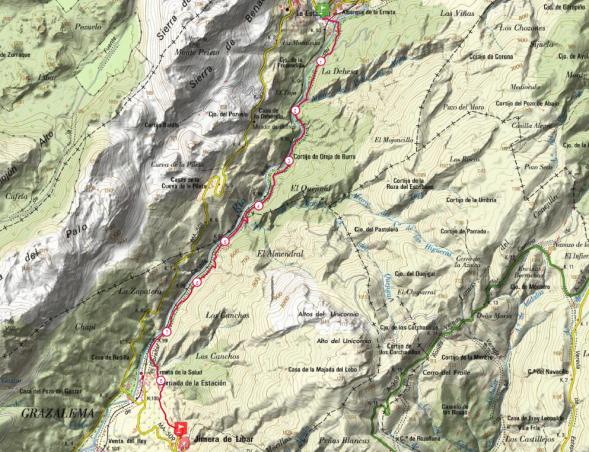 mapa tramo 9