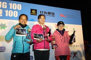 podium femenino hk100