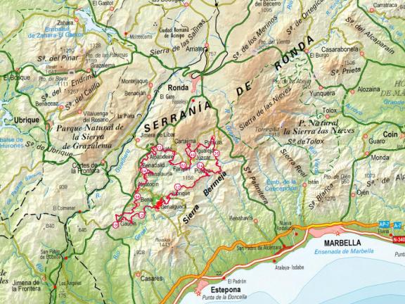 mapa Gran Vuelta
