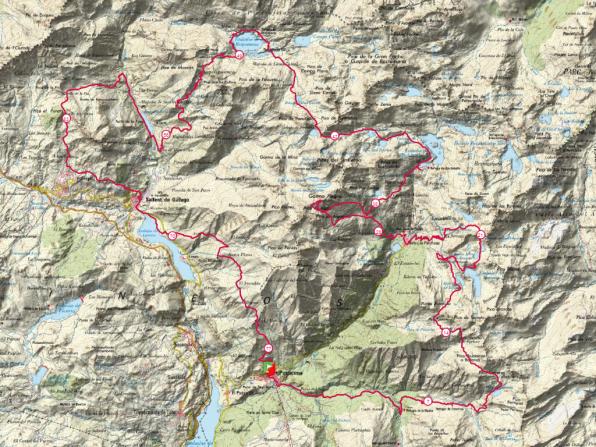 Trail valle de tena 8k