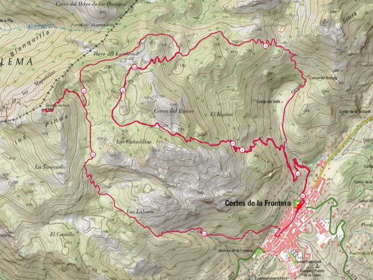 Berrea trail Recorrido