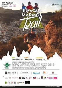 Macael marmol trail cartel