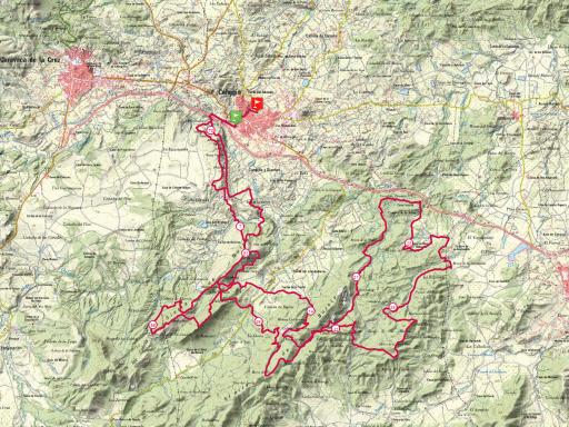 falco trail recorrido