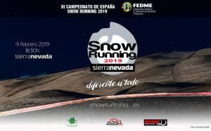 Snow running sierra nevada
