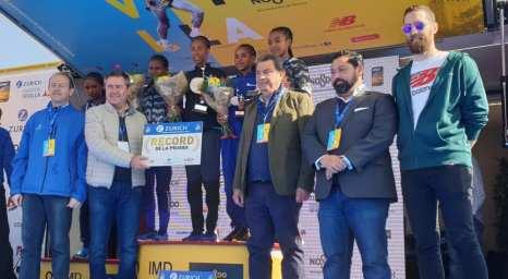 podium maraton servilla 2019 femenino