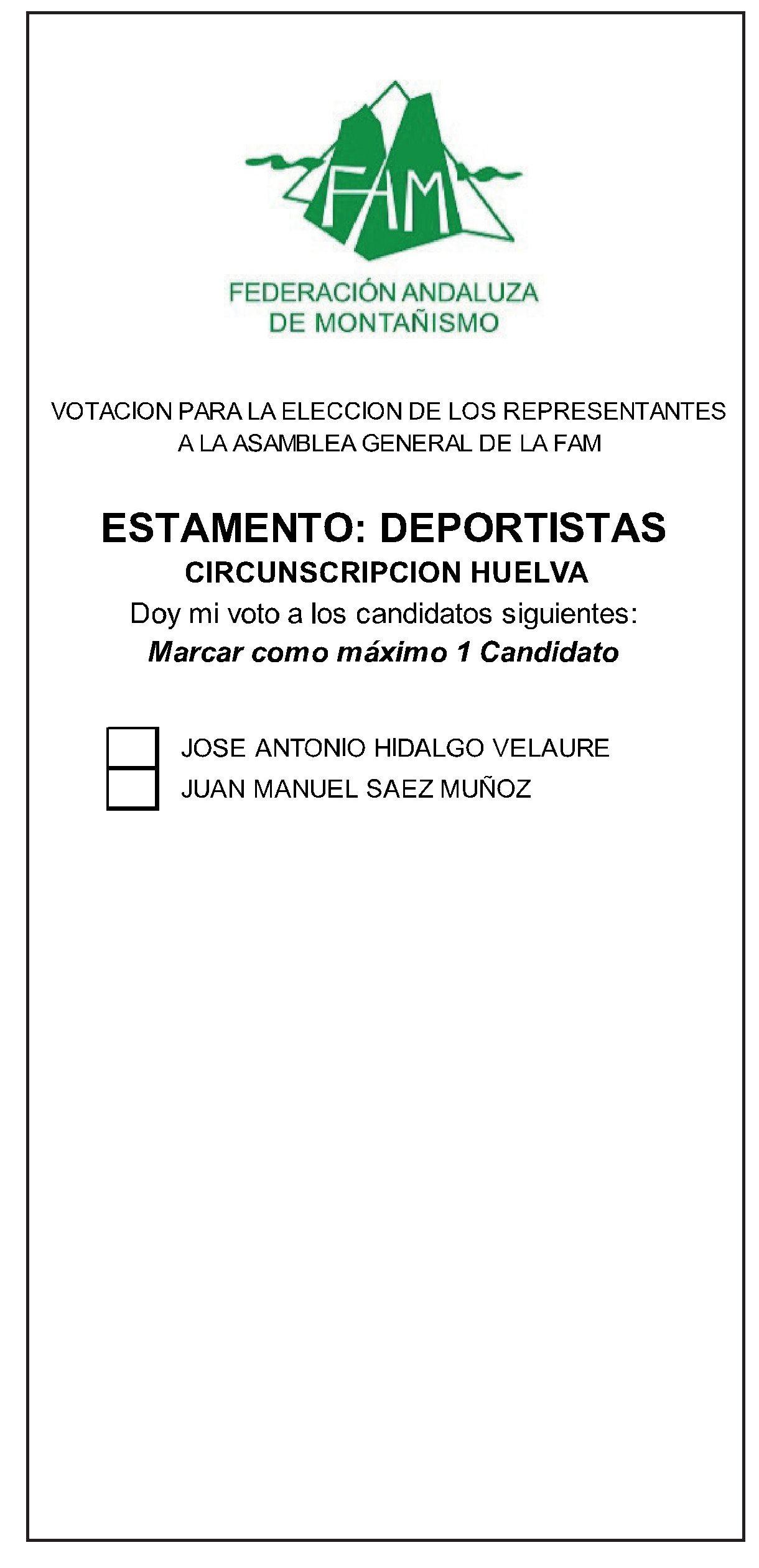 papeleta Huelva