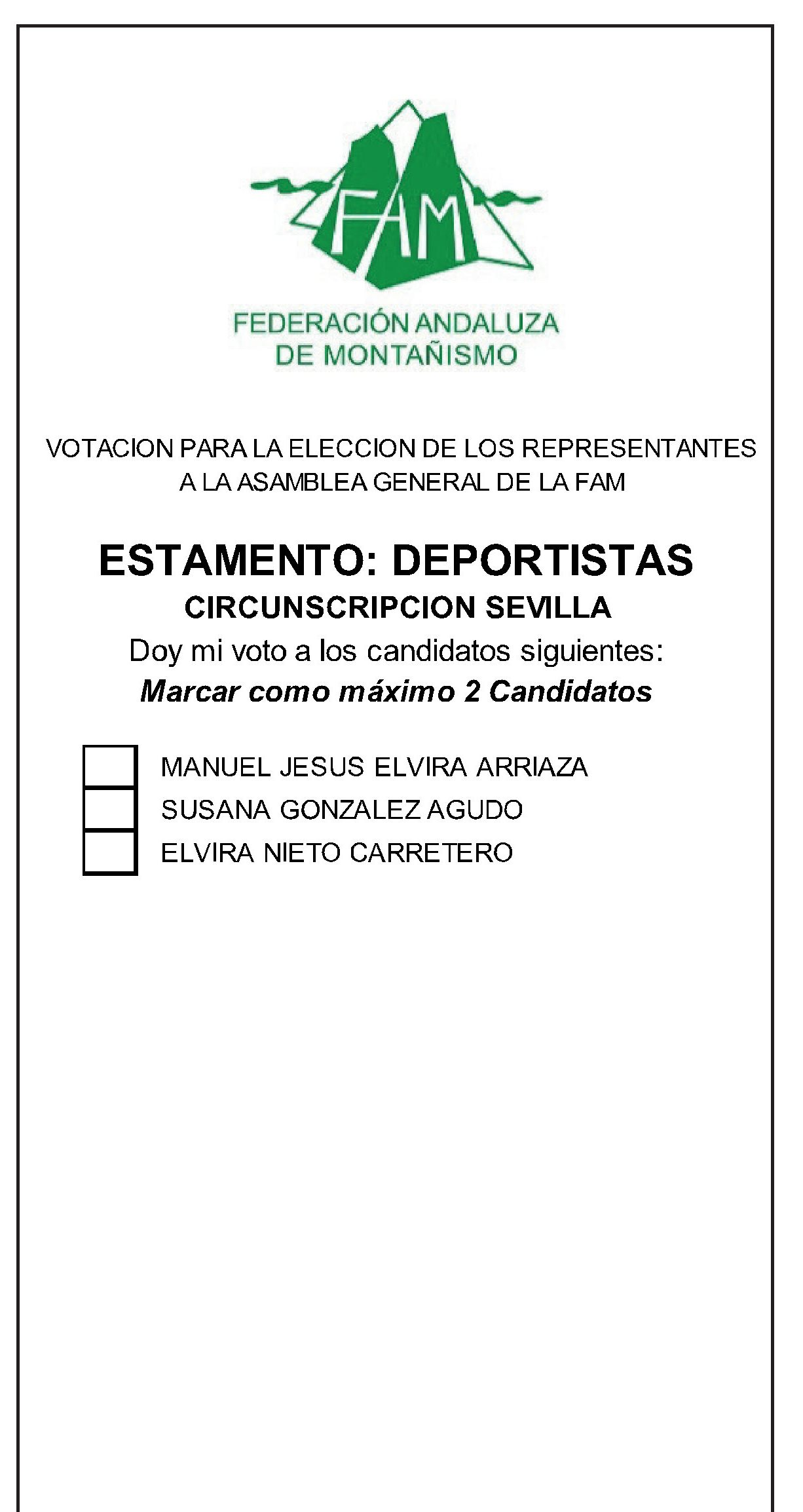 Papeleta Sevilla